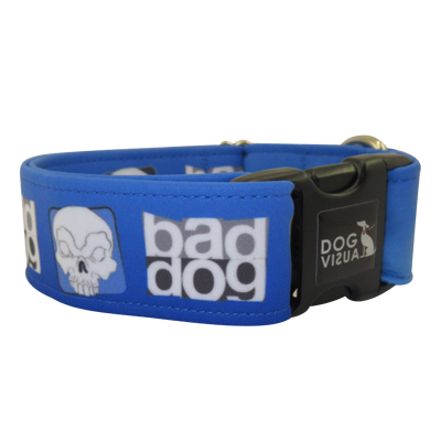 Halsband BAD DOG BLUE