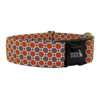 Halsband DOTS IN ORANGE