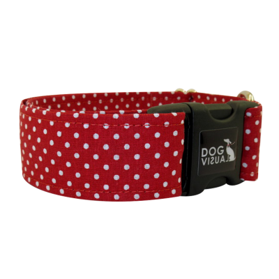 Halsband RED IN DOTS