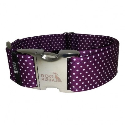 Halsband PURPLE DOTS