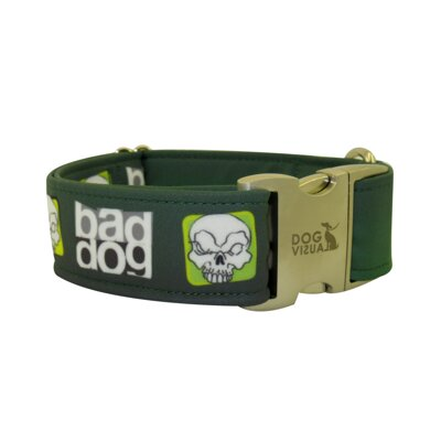 Halsband  BAD DOG GREEN