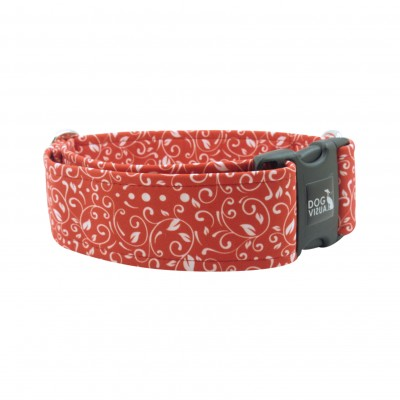 Halsband  LUXURY PATTERN RED