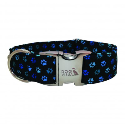 Halsband BLUE PAWS