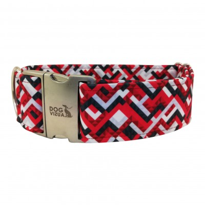 Halsband RED LINES