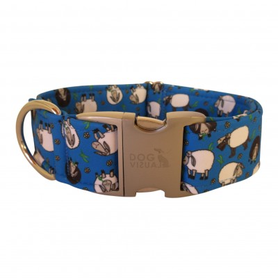 Halsband NAVY SHEEP